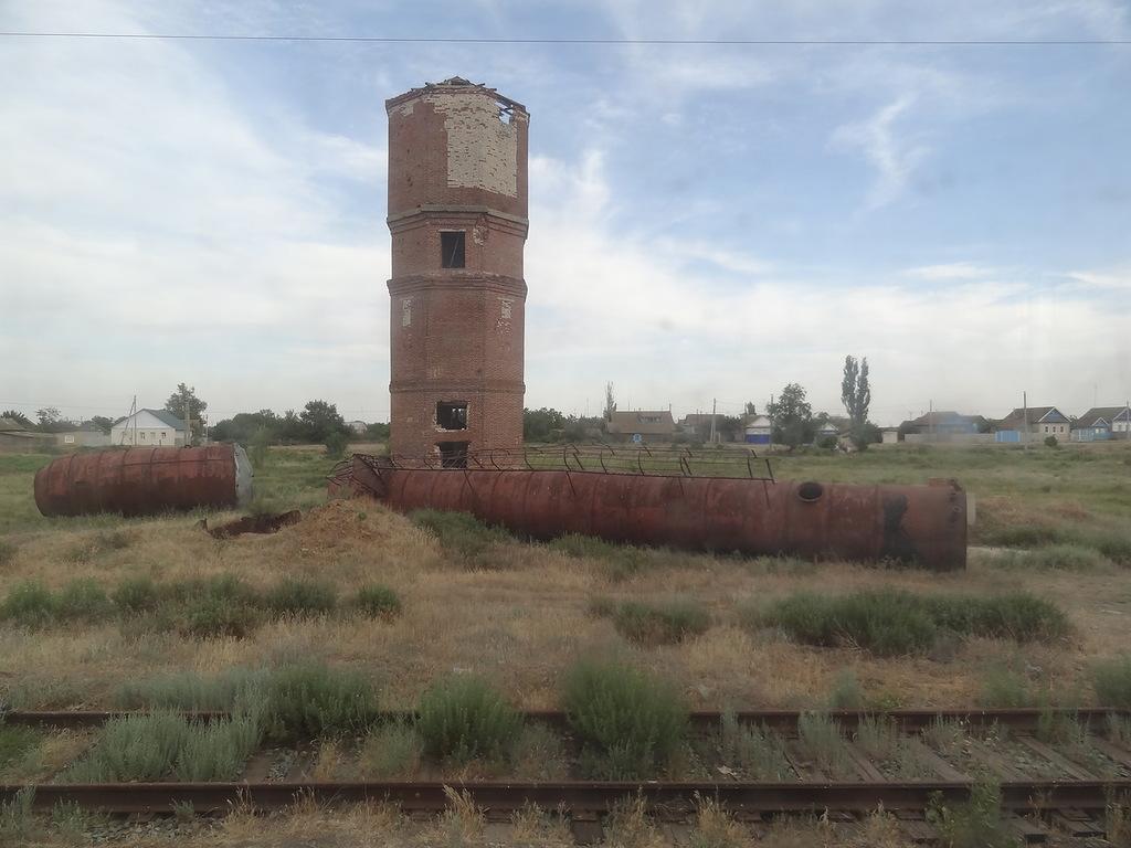 Вторая ветка железнодорожной станции «Абганерово»