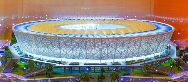 Строительство стадиона «Арена» на 45000 зрительских мест в городе Волгограде.